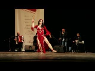 Luneva Marina with Mazzikatea europe orchestra. Saidi Rais improvisation.