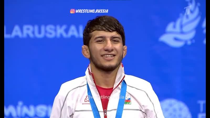 Mahir Amiraslanov Champion II European Games 2019