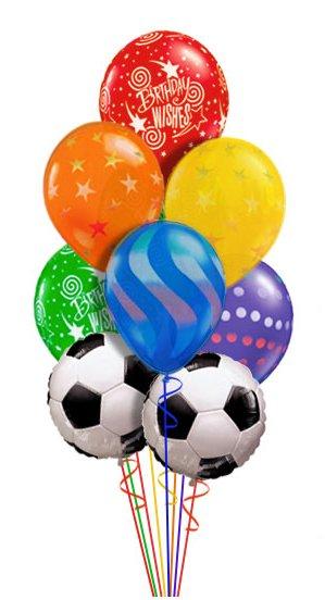С днем рождения мяч на картинке