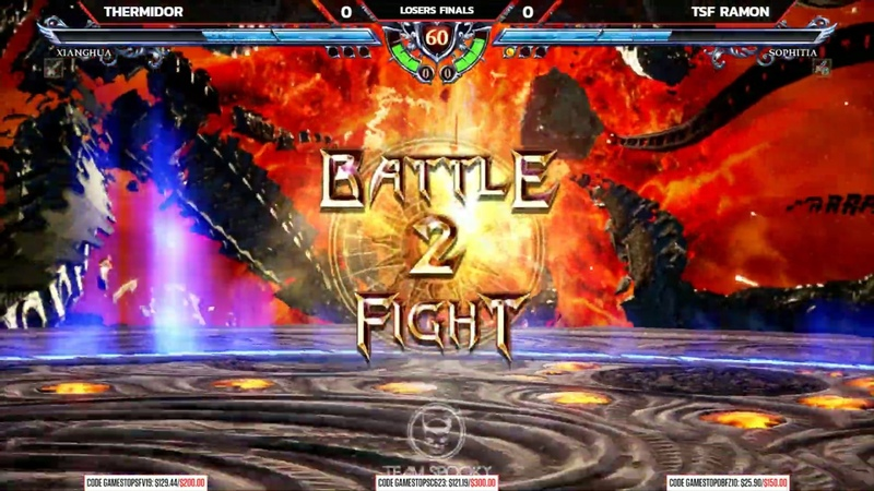 Soulcalibur 6 Top 4 Finals ft EndersJ Ramon Thermidor NLBC 197