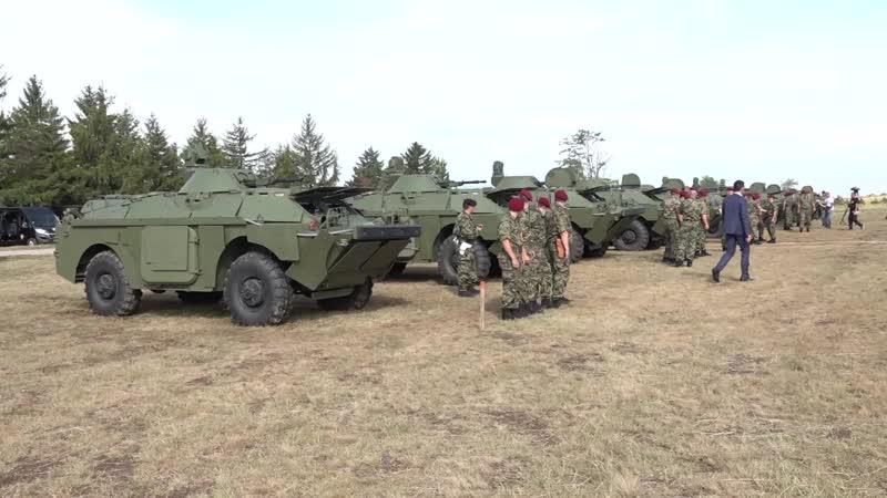 Prikaz oklopno izviđačkih vozila BRDM