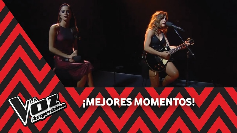 Montaner, Soledad, Tini y Axel cantan De música ligera de Soda Stereo - La Voz Argentina 2018