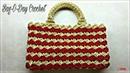 How to Crochet a Hanbag Crochet Prada Bag Look A Like Bag o day Crochet Tutorial 203
