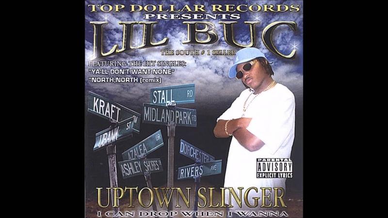 Lil Buc Uptown Slinger 2004 FULL CD NORTH CHARLESTON SC