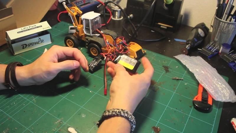 Revell Radlader Umbau Akku 2 0 Teil7 Siku Control Full HD
