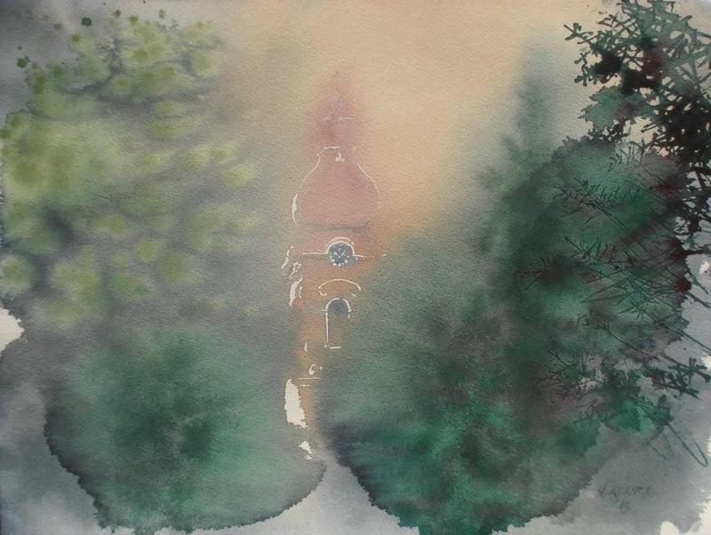 «Живые» и прозрачные акварели Эндре Пеновача несут настоящее эстетическое наслаждение не только знатокам художественного искусства, но и зрителям, не разбирающимся в живописи.