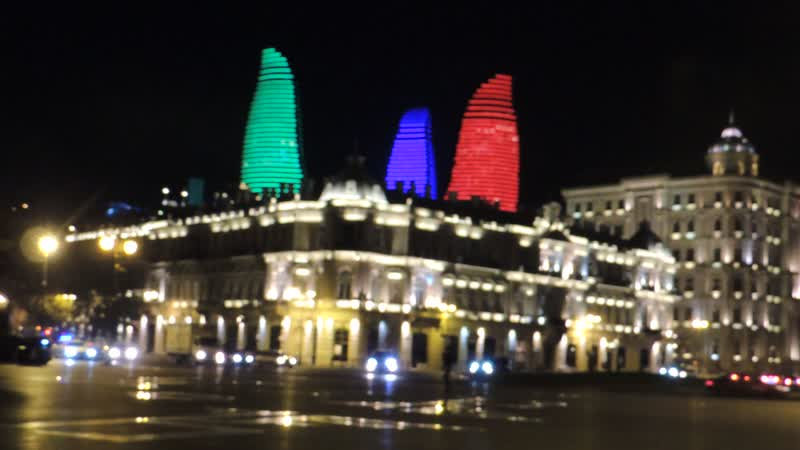 «Пламенные башни» (азерб. Alov qüllələri; англ. Flame Towers)