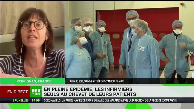 Infirmiers mobilisés contre le Covid 19 Le gouvernement nous envoie nus face à cette pandémie