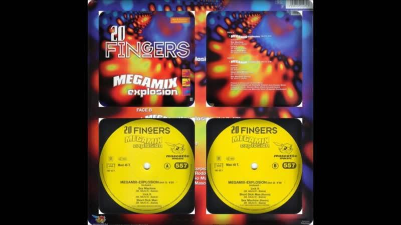20 FINGERS - MEGAMIX EXPLOSION 1996