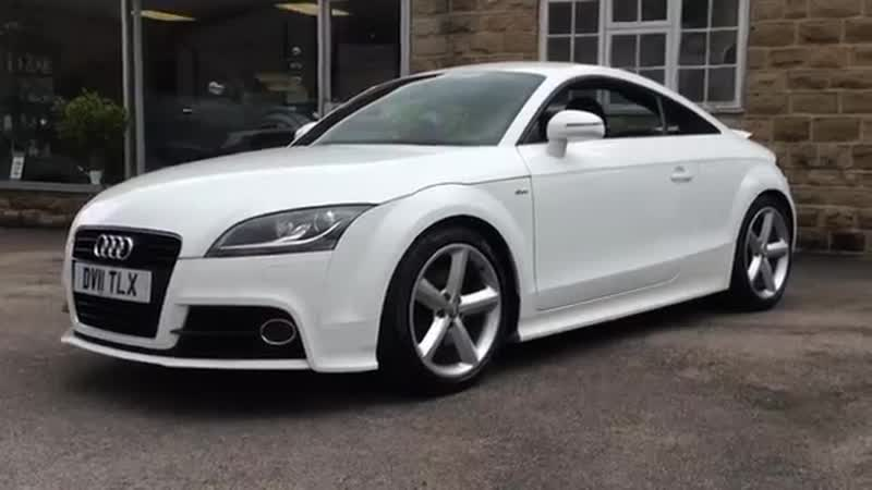 AUDI TT S Line Edition 2 0 TFSi In White