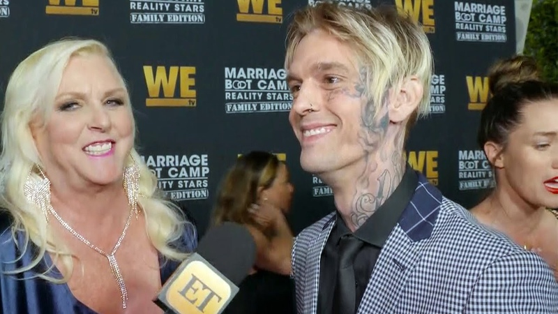 Aaron Carter Addresses Recent Drama and Inspiration Behind New Face Tattoo (Exclusive)