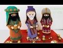 Reyes Magos en crochet amigurumis by Petus