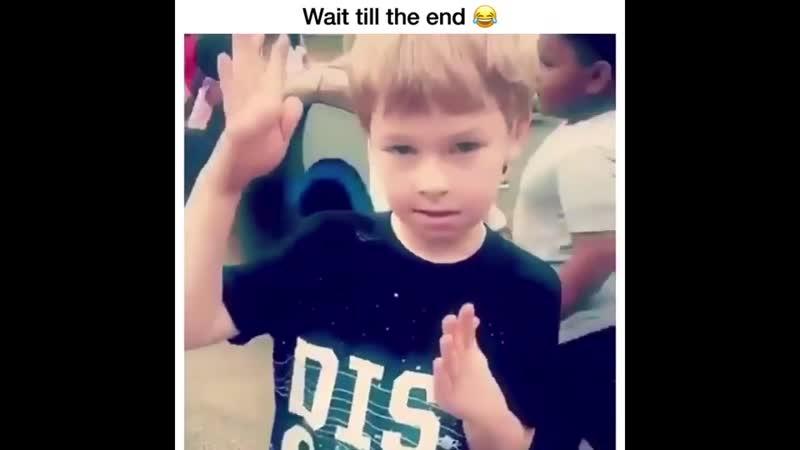 Little White Kid Cant Dab Meme