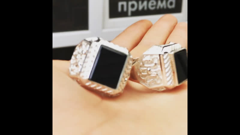 Перстни Серебро
