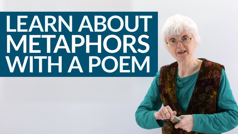 Learn about METAPHORS in English with a poem by Emily Dickinson
