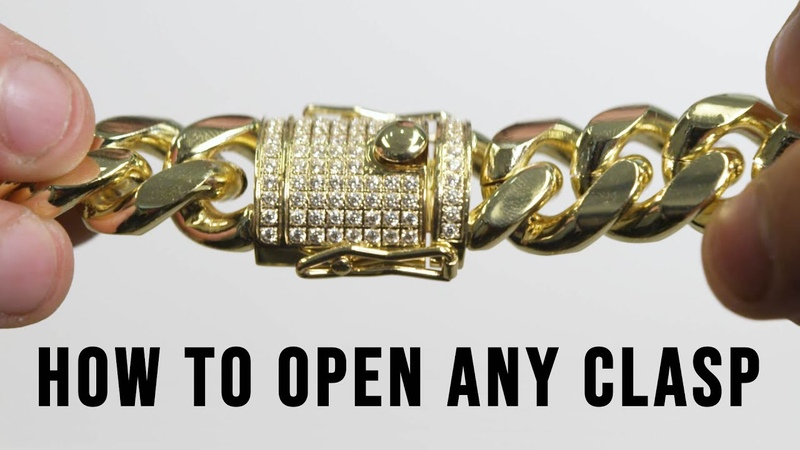 How To Opening Any Jewelry Clasp