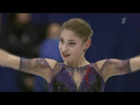 Aliona KOSTORNAIA. NHK Trophy 2019, FS, (240.00)