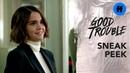 2x04: Callie Starts Her New Job