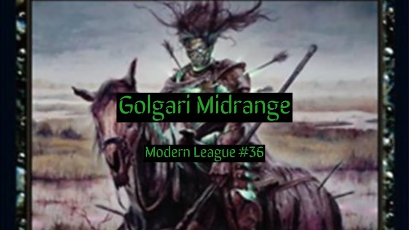 Modern Golgari Midrange League 36