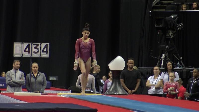 Kayla DiCello - Vault – 2019 U.S. Gymnastics Championships – Junior Women Day 2