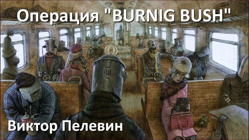 ОПЕРАЦИЯ Burning Bush - АУДИОКНИГА Виктор Пелевин