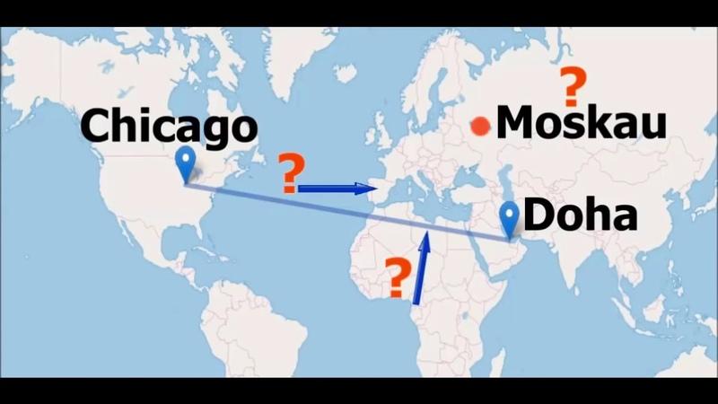 Плоская Земля. Самолёты с вынужденой посадкой, ДОКАЗЫВАЮТ ЭТО (Германия)