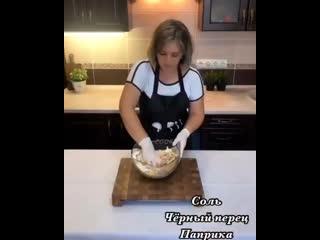 Картофельном-мясные Котлеты на кости