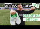 Тест и обзор на бутсы Adidas Copa 19