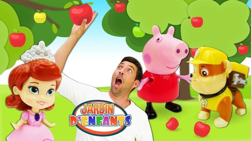 Vidéo en français pour enfants Jardin d'enfants №73 Gâteau de fruits