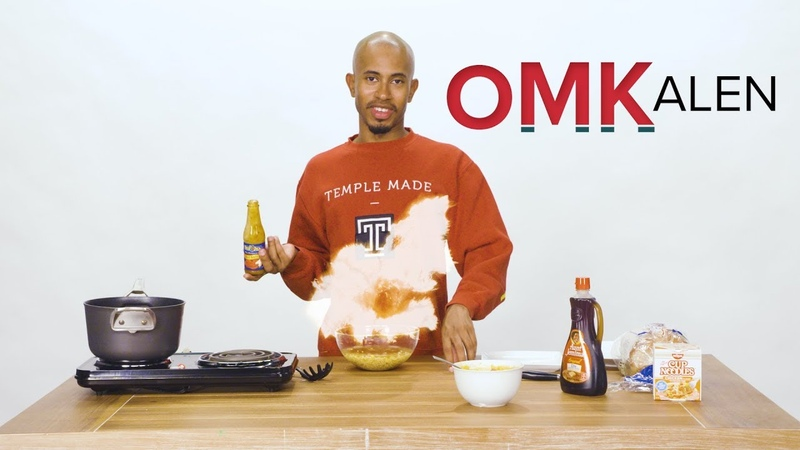 'OMKalen' Kalen Reacts and Recreates Struggle Meal Recipes