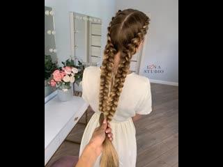 Крепление канекалона к волосам (мини урок)