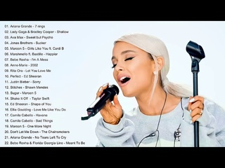 Ariana Grande, Maroon 5, Ed Sheeran, Taylor Swift, Adele, Ava Max, Shawn Mendes - Top Songs 2019