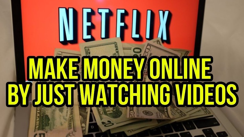 Make Money Online by just WATCHING VIDEOS TOP 4!