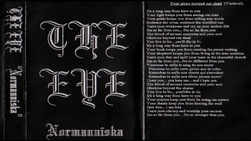 The Eye [FRA] [Symphonic Raw Black] 1996 - Normanniska (Full Demo)