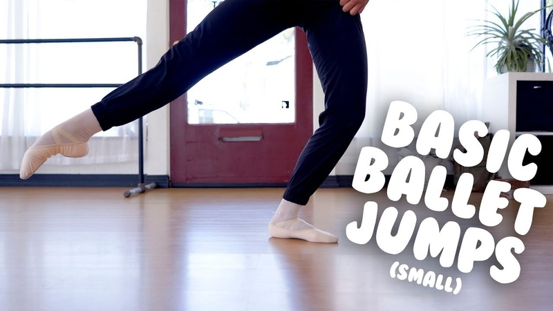 Basic Ballet Jumps Petit Allegro with Auti Kamal @MissAuti