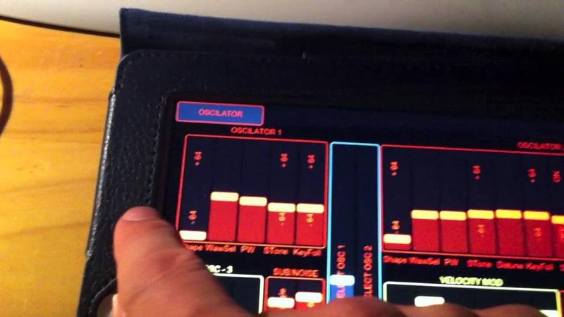 TC Powercore Virus iVirus iPad editor