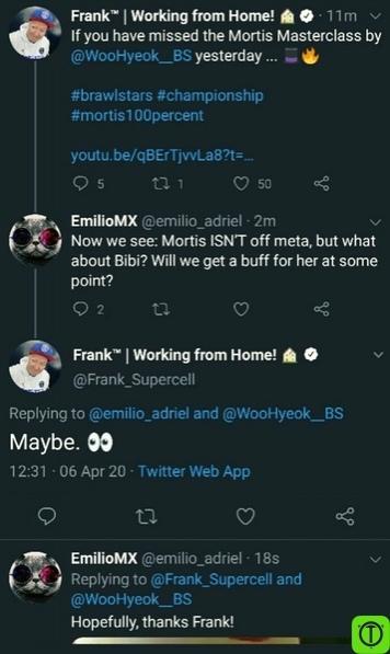 Возможно, Биби получит небольшой бафф в следующем изменении
