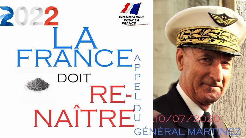 Appel du Général MARTINEZ à la mobilisation des français
