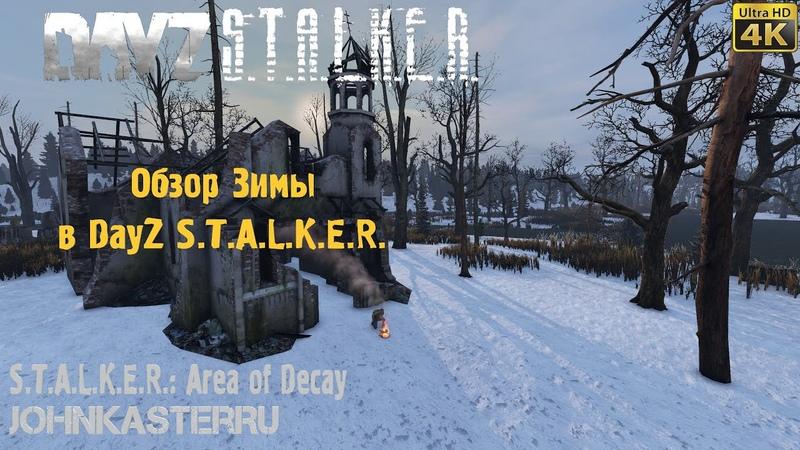 Видео ОБЗОР ЗИМЫ В S.T.A.L.K.E.R.: Area of Decay ☢ DayZ S.T.A.L.K.E.R. [4k] смотреть онлайн