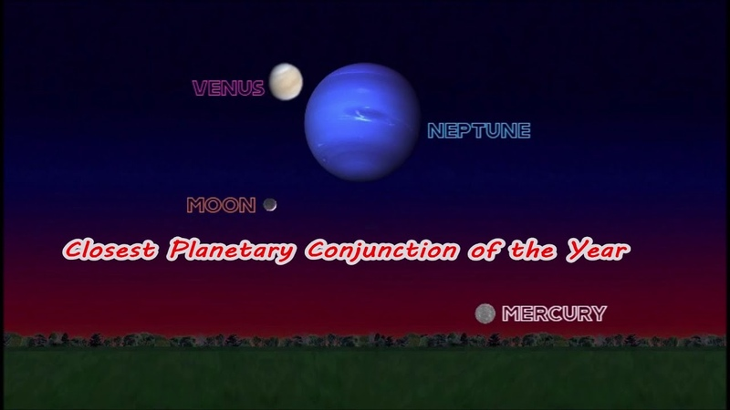 CLOSEST PLANETARY CONJUNCTION OF THE YEAR - WATCH OUT FOR THE DA VINCI GLOW