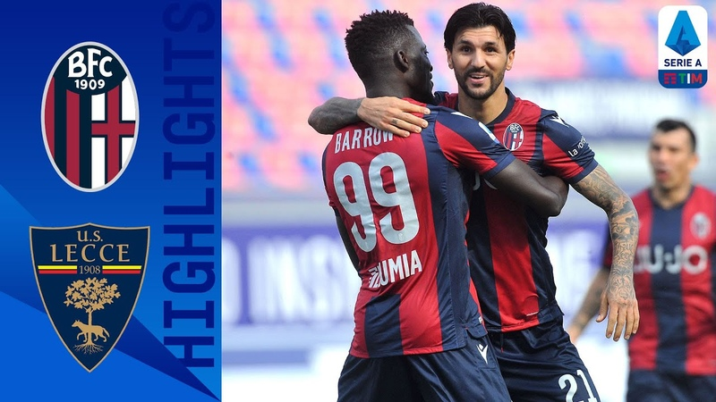Bologna 3 2 Lecce Extra Time Musa Barrow Goal Gifts Rossoblu victory Serie A TIM