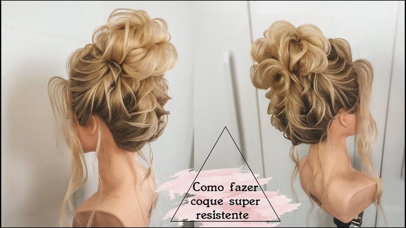 Como fazer penteado com torção capitulo 1 por Priscila Barbosa