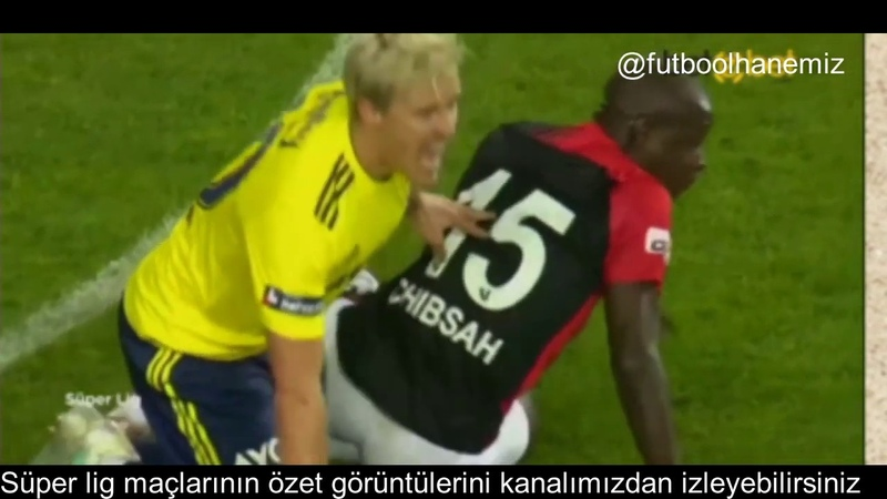 Süper lig 18. Hafta Gaziantep Fk - Fenerbahçe maç özeti