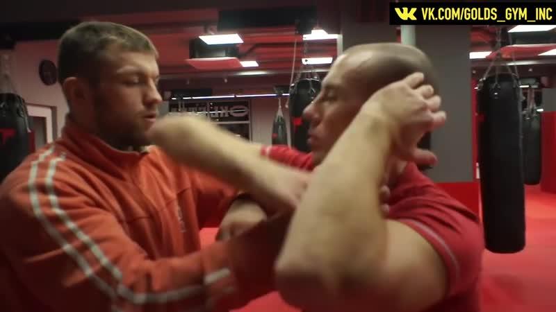 Удары локтями в тайском боксе урок Андрея Басынина тренера по тайскому боксу