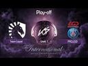 [FINAL] Team Liquid vs PSG.LGD   Game 1   The International 2019