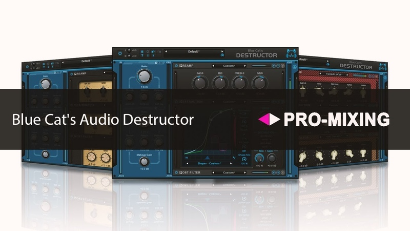 Обзор Blue Cat's Audio Destructor Арам Киракосян