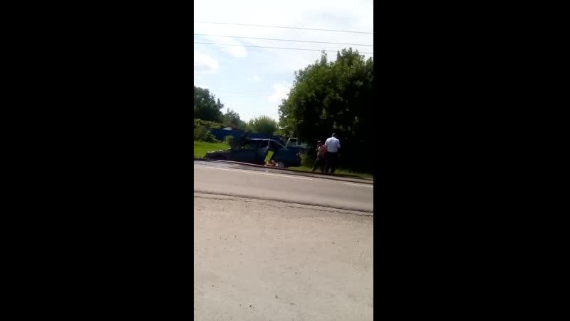 Сгорел авто в Валуйках 9.08.19
