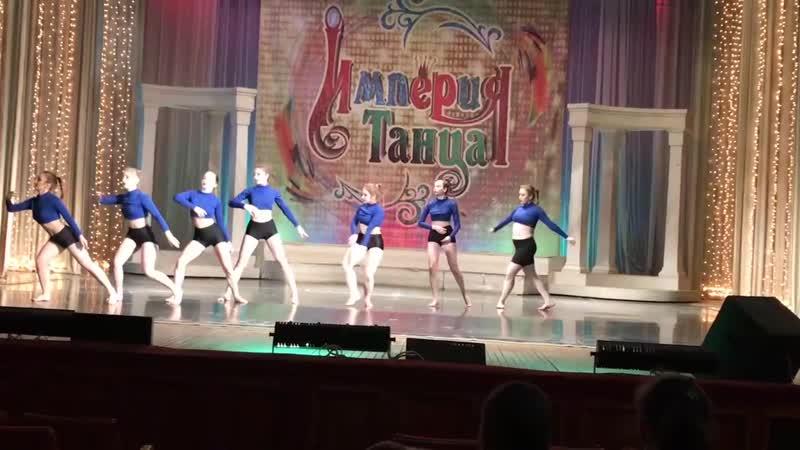 2019 04 27 конкурс Империя танца 2 место ЮУРГГПУ В ультрамарине