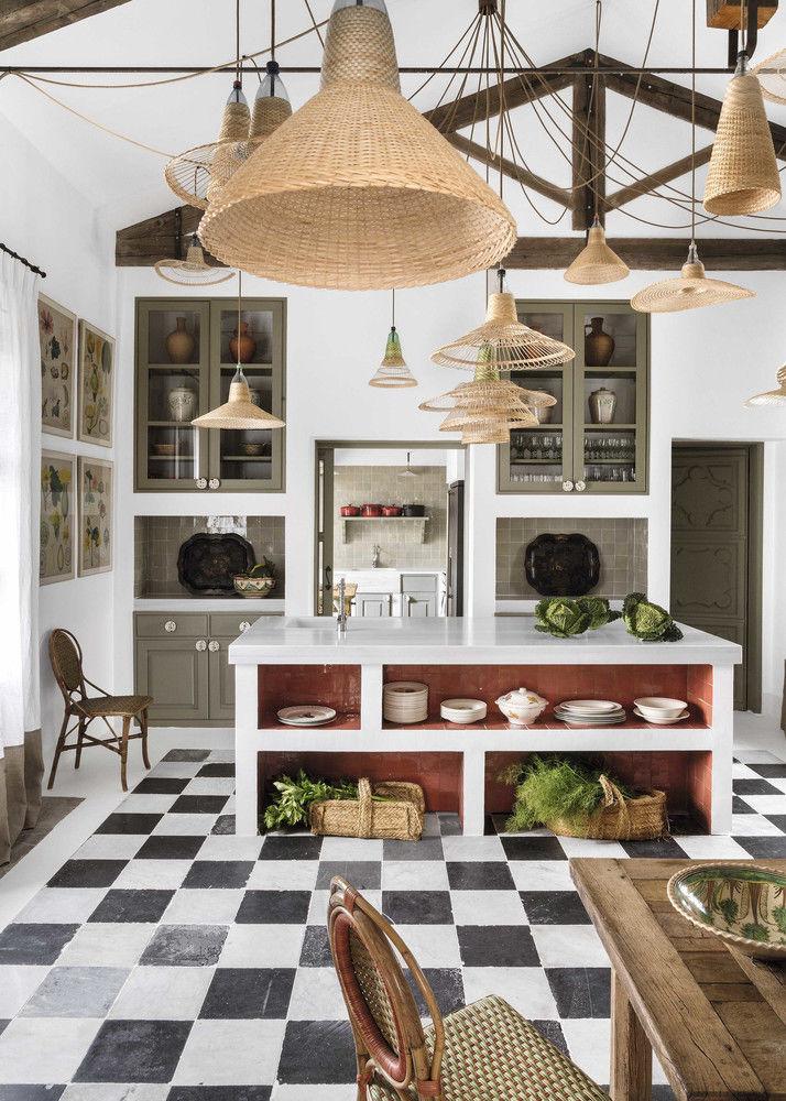 Marta de la Rica turns a farmhouse into DESIGN CORTIJO full of CRAFTS || 01