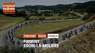 Critérium du Dauphiné 2021 - Découvrez l'étape 4